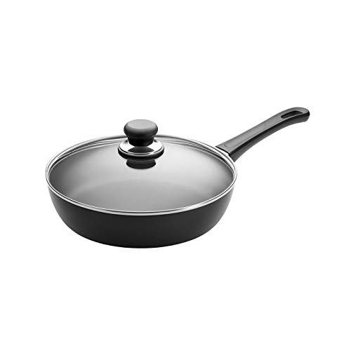 "Scanpan Classic Sauté Induction Saute Pan, 11"", Black (53102800)"