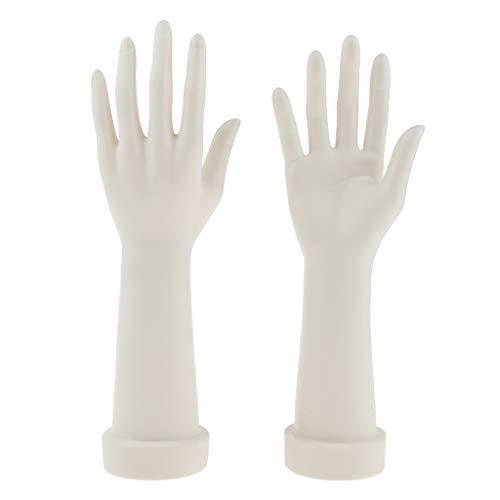 Gazechimp Rechte Und Linke Hand Modell Set Weiblich Schaufensterpuppe Gliederpuppe