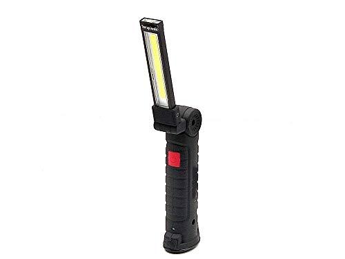 Camping Lichter Camping Leuchten und Laternen Wiederaufladbare Licht geführte Arbeits-Licht-USB aufladbare Arbeitsleuchten mit magnetischer 5 Modi LED-Taschenlampe Inspektion Lampe for Auto-Reparatur-