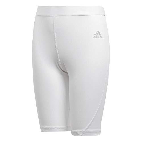Adidas Ask SHO Tight Y Leggings, kinderen, wit, 176 (15/16 jaar)