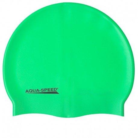 Aqua-Speed® Mega Cuffia da Piscina in Silicone, da Spiaggia Berretto, Campana da Spiaggia, cap