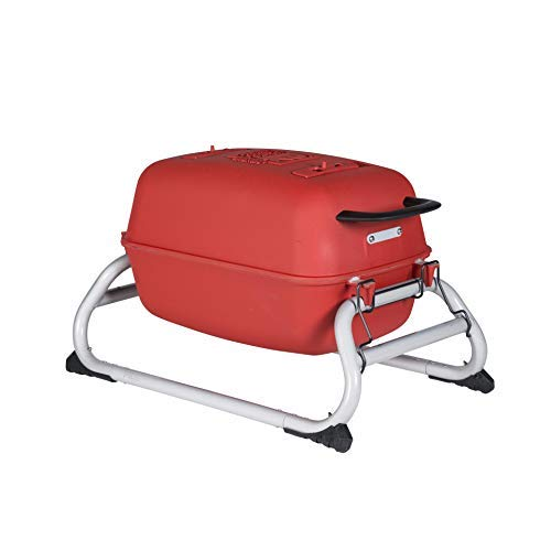 PK Grills PKGO Outdoor Portable Aluminum Charcoal Grill and Smoker