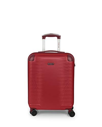 Gabol - Balance | Maleta de Cabina Rigidas de 40 x 55 x 20 cm con Capacidad para 32 L de Color Rojo