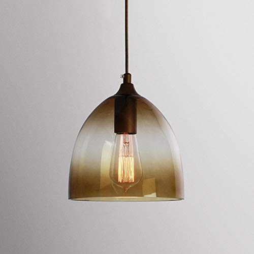 BJClight Classic American Restaurant Candelabro de cocina Moderno 2M Alambre colgante ajustable Techo de vidrio Lámpara colgante E27 Decoración Lámpara Accesorio de iluminaci