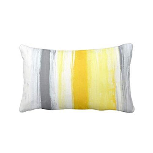SuoSuo NXCY01 Funda de Almohada Cómoda Cómoda Caso de Almohada de Lujo Contratado Contractado Pure Fresh Fresh Funda de Almohada Nordic Sofá Decorativo Cojines (Color : D)