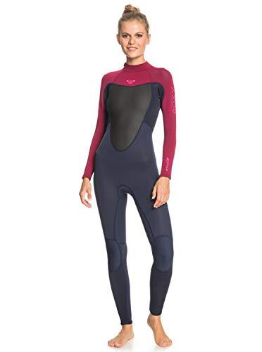 Roxy Damen 3/2mm Prologue - Back Zip Wetsuit for Women Badeanzug, Blau, 12