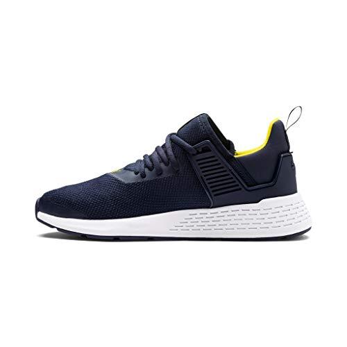 Puma Unisex-Erwachsene Insurge Mesh Sneaker, Blau (Peacoat-Blazing Yellow-Puma White), 42 EU