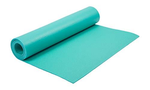 Kounga Unisex's Yoga Mat Essential 4, Turquoise, One size