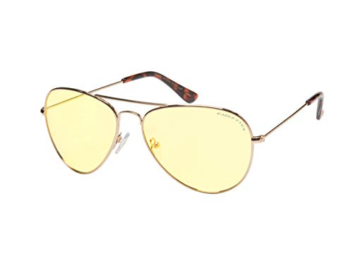 Eagle Eyes Classic Aviator Night-Lite - Night Driving Glasses