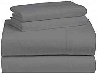 Crescent Bedding Twin Extra Long Micro Fiber Sheet Set - Soft and Comfy - By Grey Twin XL