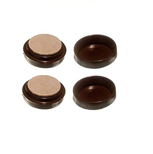 Merriway® BH00150 Castor Caster Cups with Felt Pad, Outer Dimension 68 mm...