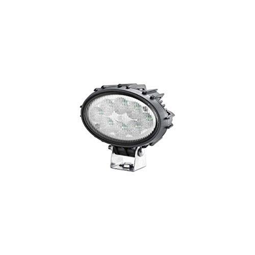 HELLA 1GA 996 661-501 LED-Projecteur de travail - Oval 100 Thermo Pro - 12/24V - 1700lm - Montage en saillie - pendu/debout - Éclairage du champs proche - Fiche: Fiche DEUTSCH