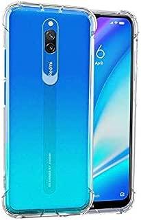 POPIO Back Cover Case for Redmi 8A Dual (Transparent)