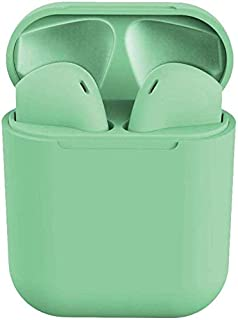 InPods 12 Touch Controlled True Wireless Earbuds with Bluetooth 5.0 (green)