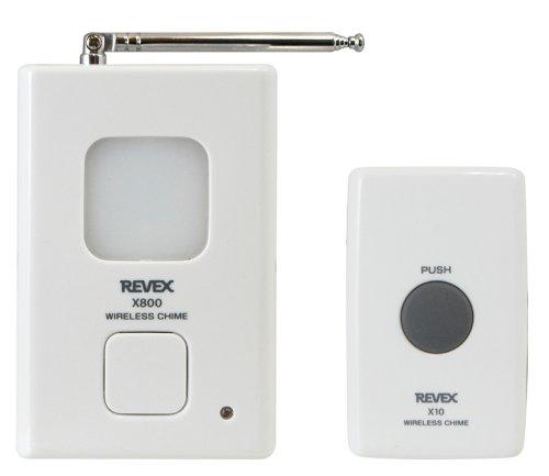 リーベックス(Revex) ワイヤレス チャイム Xシリーズ 送受信機セット インターホン 呼び出しチャイムセット...