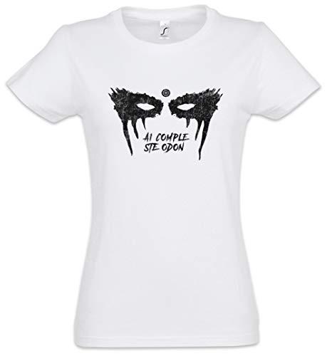 Urban Backwoods Lexa Fight is Over Damen T-Shirt Weiß Größe L