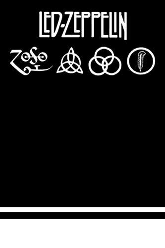 Led Zeppelin Notebook : Lined Notebook For Led-Zeppelin 6