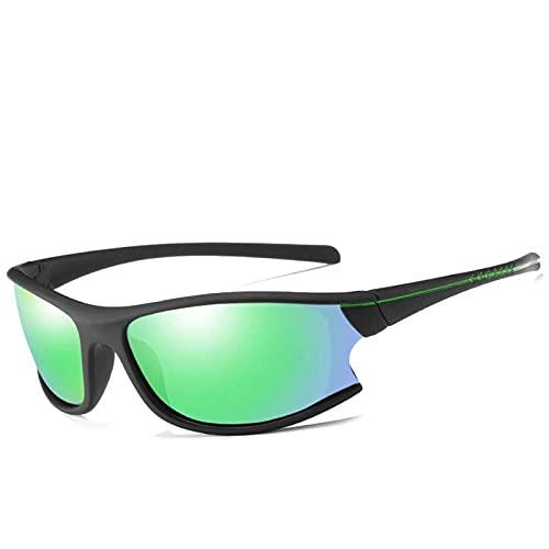 AMFG Gafas de sol polarizadas para hombre Gafas de sol deportivas Espejos a prueba de polvo Ciclos de ciclismo Viajes al aire libre (Color : G)