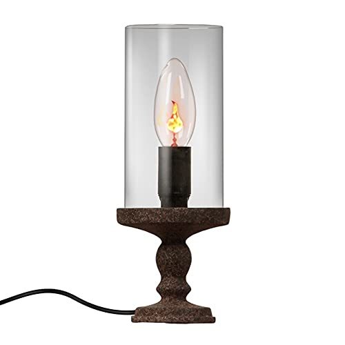 ZCCLCH Lampada da tavolo classica della lampada della candela Lampada da tavolo semplice della tabella da notte della tabella della tabella americana Lampadario decorativo della candela decorativa ret