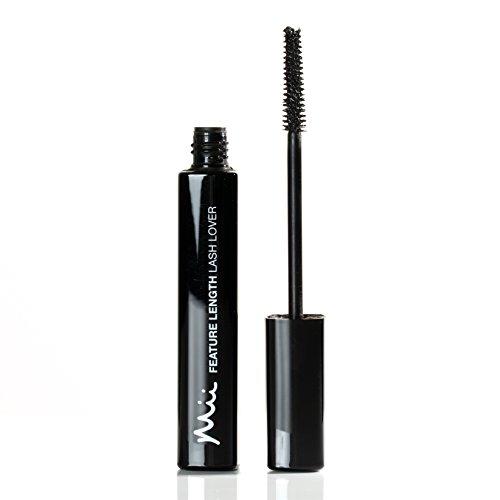 Mii Cosmetics Feature Length Lash Lover Black Mascara, Ambition