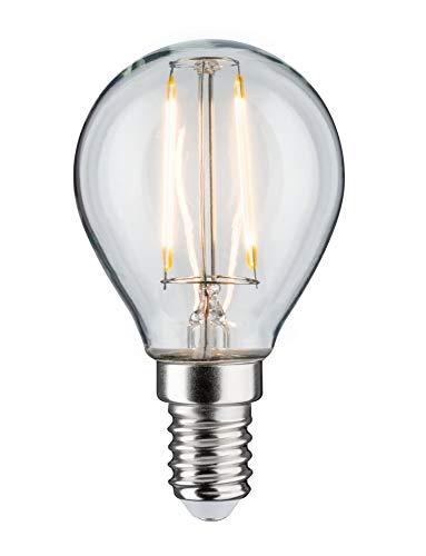 Paulmann 28370 LED Gota, 2,5W, E14, 230V, Claro, 2700K, 2.5 W, 4,5 x 8 x 4,8 cm