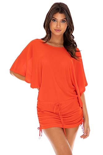 Luli Fama Cosita Buena - South Beach Dress-EJC - S/Sangrita