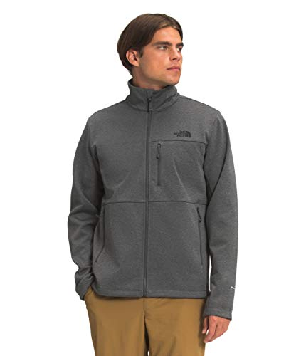 The North Face Men's Apex Canyonwall Eco Jacket, TNF Dark Grey Heather, XL