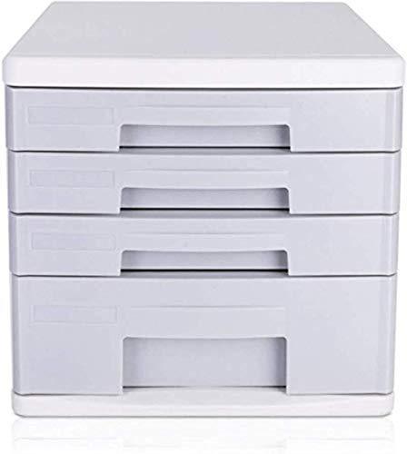 File cabinet File File Armadi desktop A4 Plastic dati cassetto del Governo Desktop Gabinetto Governo di immagazzinaggio scatola di immagazzinaggio (Design: 4 strati) Mobile Home Office Armadi archivio