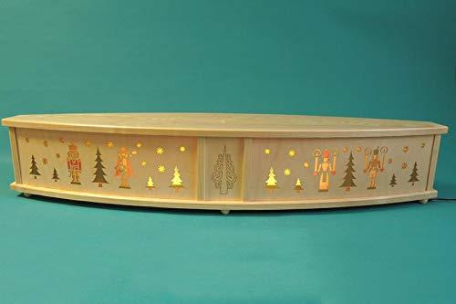 Rudolphs - Cofre del tesoro (80 x 15 cm), diseño de arco