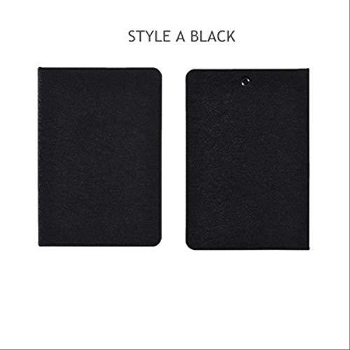 XXIUYHU Flip Case Für Hp Pro Tablet 608 G1 Magnetabdeckung Ständer Halter Pu Ledertasche Für Hp Pro Tablet 608 G1 Z8500 7,9 '' Tablet CaseStyle A Schwarz