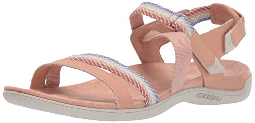 Merrell Damen District Mendi Backstrap Slingback Sandalen,Pink (Tuscany),38 EU