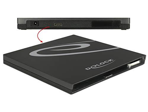 Gehäuse Ultra Slim SATA 9,5mm > USB Type-C Delock, 42595