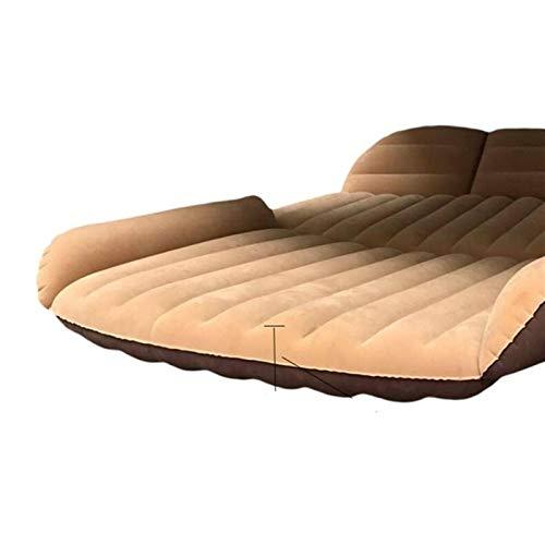 Colchón para Coche y Sofá al Aire Libre,190 * 119 * 12.5cm Cama de CAMPING CAMPA DE CUCTURO SUV Colchón inflable para el colchón Auto Colchón Flocado Cojín inflable portátil Cama de viaje