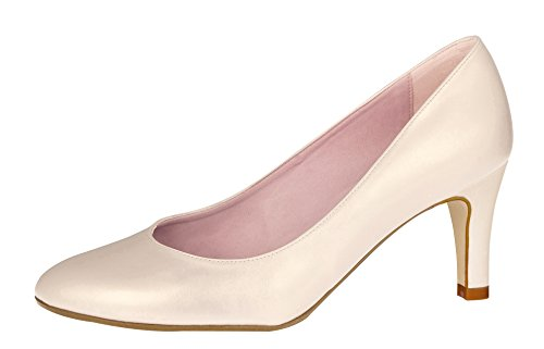 Fiarucci Brautschuhe Lovely Moon - Rose Creme Foam - Pumps Größe 41 EU 8 UK Damen