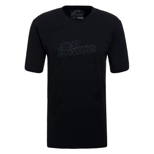 platzangst All Day T-Shirt - Schwarz Größe XL