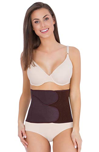 Belly Bandit - B.F.F. Belly Wrap for Postpartum Recovery - Large, Brown
