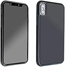 ANERNAI iPhone X Case Ultra Thin Soft TPU +PC Anti-Gravity Nano Adsorption Technology for iPhone Apple X 10 Cover (Black)