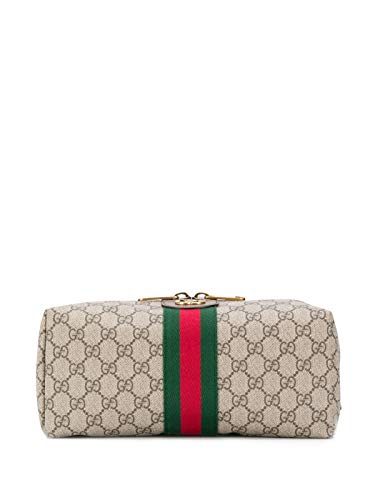 Gucci Ophidia GG Wash Bag/Toiletry Case Beige
