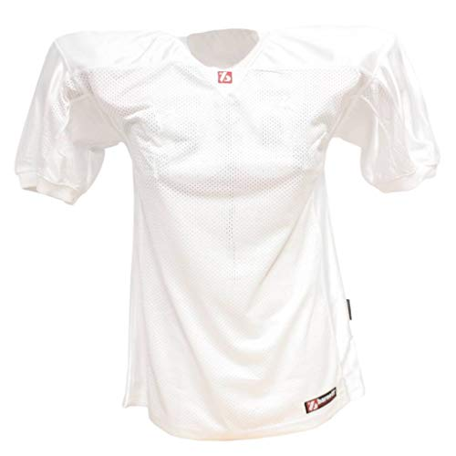 BARNETT FJ-2 - Camiseta de fútbol Americano (Talla L), Color Blanco