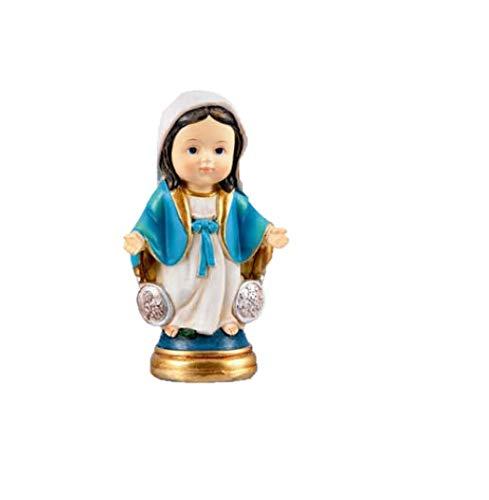 DRW Virgen Milagrosa Infantil 9 cm