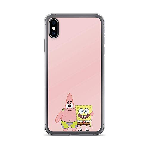 Phone Case Spongebob and Patrick Star Best Friends American Animated Compatible with iPhone 12/12 Pro Max Mini 11 Pro max XR SE 2020/7/8 X/Xs 6/6S Plus Samsung S21 S21+ Ultra