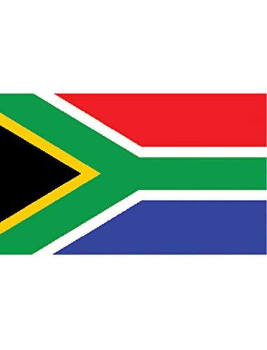 "TrendClub100® Fahne Flagge ""Südafrika South-Africa ZA"" - 150x90 cm / 90x150cm"