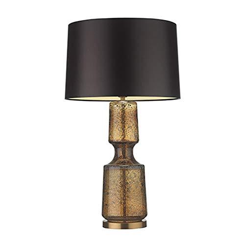 Lámpara de Mesa 22' LED lámpara de mesa de cristal con la sombra del tambor de cristal lámpara de mesa contemporánea for el dormitorio, sala de estar, oficina, mesa, estante for libros Lámpara de Cabe