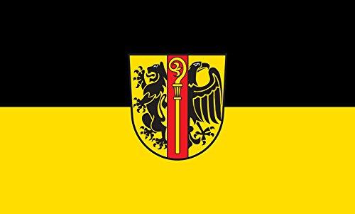 Unbekannt magFlags Tisch-Fahne/Tisch-Flagge: Ostalbkreis (Kreis) 15x25cm inkl. Tisch-Ständer