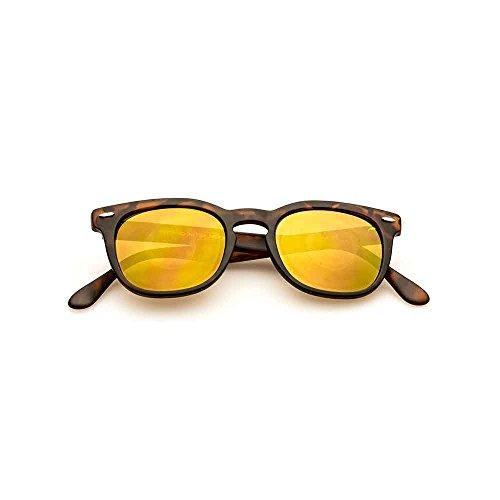 Spektre Memento Audere Semper Sonnenbrille Männer Frauen hoher Schutz spiegel gold Made in Italy