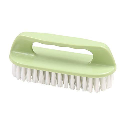 Deanyi Multifuncional friega el Cepillo Suave Durable de plástico Cepillo de Limpieza para Lavar la Ropa Zapatos Las tareas del hogar Color al Azar