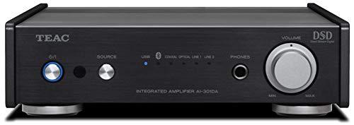 Teac AI-301DA-X Stereo Vollverstärker (60 Watt je Kanal, USB DAC, Bluetooth), Schwarz