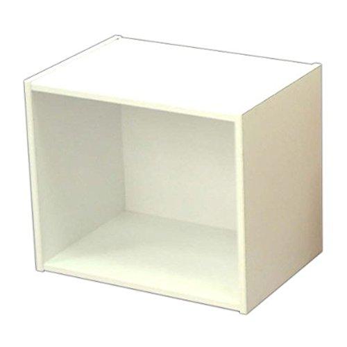 アイリスオーヤマ カラーボックス 1段 幅41.5×奥行29×高さ30.5cm ホワイト CX-1