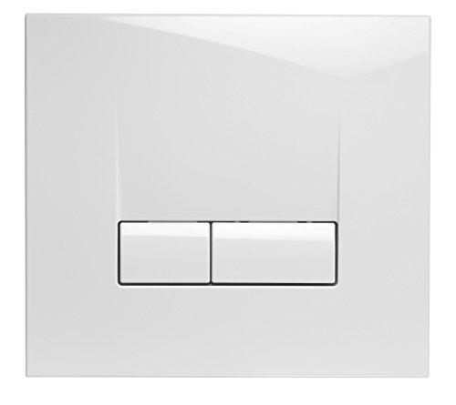 Cornat AP4200 Betätigungsplatte für VWC352/WEK2 eckig, weiß