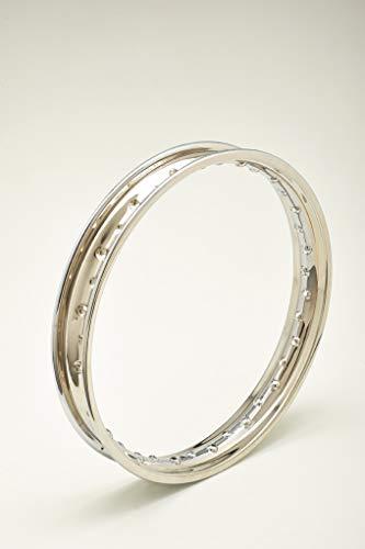 Felge aus verchromtem Stahl Chrome Stahl Wheel RIM Italia Felge 2,15 x 18 40 Löcher